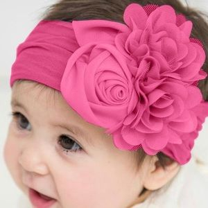 Other - Super Cute And Stretchy Infant Flower Headband